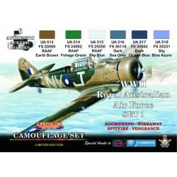 ROYAL AUSTRALIAN AIR FORCE WWII SET1