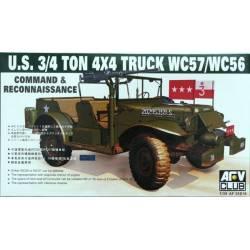 US 3/4 Ton 4x4 Truck WC57/WC56 Command & Reconnaissance