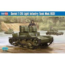 Soviet T-26 Light Infantry Tank Mod.1931