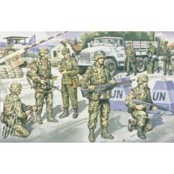 UN FORCES IN BALKANS