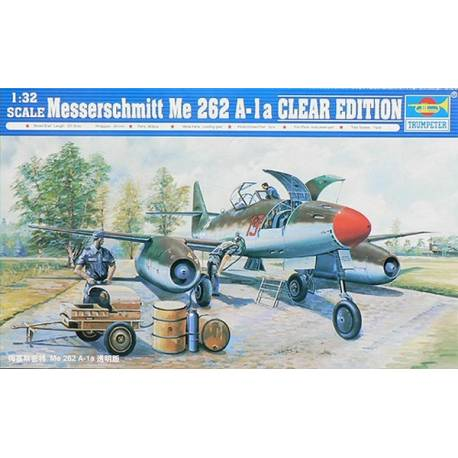 Messerschmitt Me262A-1a Clear Edition