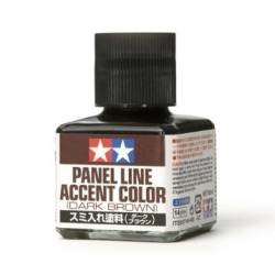 Panel Line Accent Color Dark Brown 40ml
