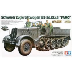 """Schwere Zugkraftwagen 18t (Sd.Kfz.9) """"FAMO"""""""