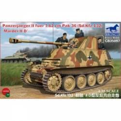 Panzerjager II fur 7.62cm Pak 36 (Sd.kfz.132) Marder II Ausf.D