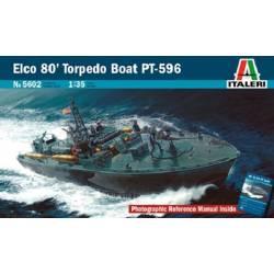 ELCO 80 PT-596 TORPEDO BOAT