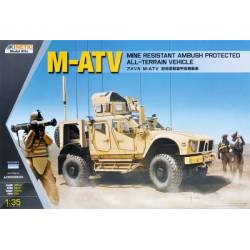M-ATV Mine Resistant Ambush Protector All-Terrain Vehicle